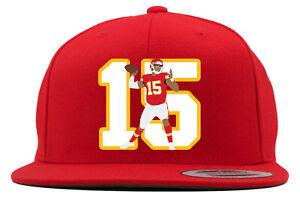 Kansas City Chiefs Patrick Mahomes 15 Snapback Hat