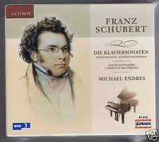 SCHUBERT BOX SET 6 CDS NEW COMPLETE PIANO SONATAS MICHAEL ENDRES