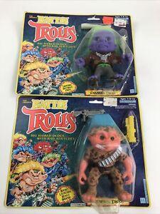 The Original BATTLE TROLLS - GENERAL TROLL - Franken Troll …in Package