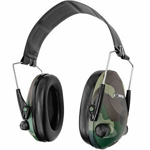 Boomstick Electronic Ear Muff Safety Hearing Noise Protection Gun Shooting Camo