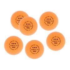 6pcs Balles de Tennis de Table/Ping Pong 40mm Balle de Formation Tennis de