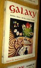 GALAXY # 57-ASIMOV-VANCE-DEL REY-LAFFERTY-HARMON-1963-LA TRIBUNA-FANTASC-SR32
