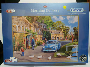 Gibsons G3536 Morning Delivery by Trevor Mitchell 500 XL pce jigsaw puzzle BNIB