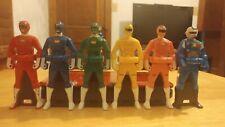 Carranger Ranger Key Set Power Rangers Turbo Super Sentai