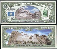 Lot Of 25 Bills - Mount Rushmore National Memorial Novelty Bills
