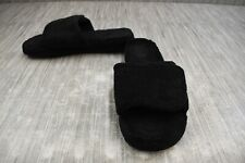 **Acorn Spa Slide Slippers, Men's Size 7.5-8.5, Black