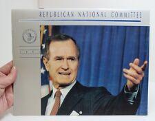 VTG 1991 GEORGE BUSH SR REPUBLICAN NATIONAL COMMITTEE WALL CALENDAR