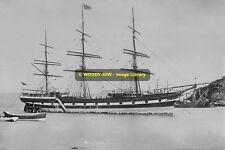 rp11266 - New Zealand Shipping Co Sailing Ship - Wairoa , built 1876 - photo 6x4