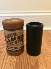 "RARE Antique Edison Wax Cylinder Record ""Baritone Laughing Coon"" #4005 Americana"