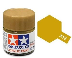 Tamiya X-12 GOLD LEAF GLOSS