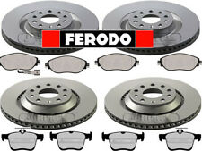 FERODO - VW GOLF MK7 GTI R 4 MOTION FRONT & REAR BRAKE DISCS AND PADS