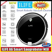 Smart Saugroboter ILIFE A6 Vollautomatisch Staubsauger Reinigung bis zu 350 min