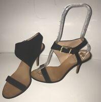 Vince Camuto Signature Women's Black Suede Heels Stiletto Sexy Size 7M