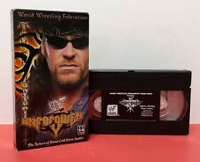 Wwf Unforgiven 2000 Vhs Tape In Your House Home Video Wwe Ppv Pay Per View