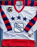 Vintage CCM 1992 NHL All Star Blank Adult Small Jersey New With Tags