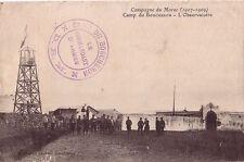 MAROC - CAMP DU BOUCHERON * D.R.M.* LE COMMANDANT D'ARMES - CARTE DU CAMP.