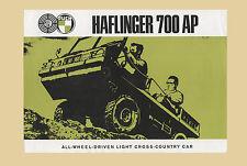 STEYR Haflinger 700 AP Geländewagen Allrad Original 1966