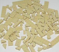LEGO LOT OF TAN PARTS PLATES BRICKS BUILDING BLOCKS