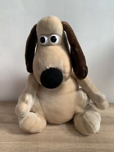 Wallace and Gromit Aardman Gromit Dog Soft Plush Toy Animation Collectible VGC