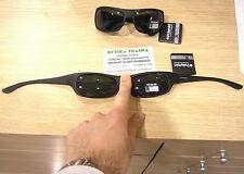 Occhiali da sole Sunglasses Polaroid 07886 9CA NERO INDEFORMABILE SOTTO CASCO