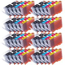 40 Druckerpatronen für CANON PGI525PGBK CLI 526BK CLI526C CLI526M CLI526Y + Chip