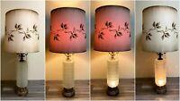 Mid-Century Hollywood Regency Table Lamp, Dual Illumination