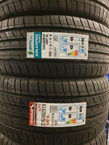 NEW SET JINYU/ROADX  275/40 ZR19 245/45 ZR19 XL CAR TYRES 275 40 19 245 45 19