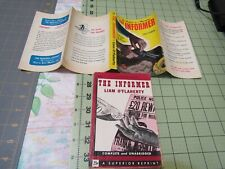 THE INFORMER BY LIAM O'FLAHERTY     RARE BANTAM VINTAGE PB WITH RARE DUSTJACKET