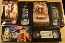 Back to the Future Lord of the Rings Two Towers -The Fellowship- Vhs -movie lot