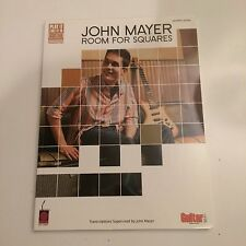 John Mayer Room for Squares Vocal Guitar Songbook Chords List Price $22.95