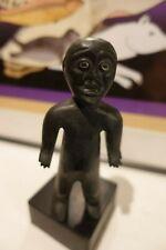 Inuit Art Carving  Spirit  Figure in Black