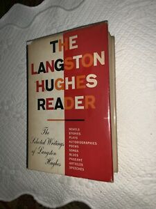 near fine 1st 1st 1958 The Langston Hughes Reader Omnibus Weary Blues HCDJ BLM