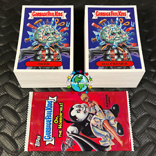 GARBAGE PAIL KIDS OH, THE HORROR-IBLE! 2018 COMPLETE 200-CARD BASE SET +WRAPPER!