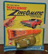 Matchbox Superfast Zingomatic Gold BMC Pininfarina in Sealed Blister Pack