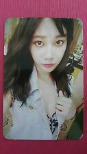 AOA YUNA Official PHOTOCARD WEEK Ver. 4th Album GOOD LUCK Photo Card 유나