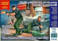 MASTER BOX 24065 1/24 - The Johnson brothers Bobby and Billy, The Heist series 2