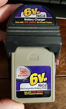 New Bright R/C NiCd 6 V Volt Battery & Wall Charger Combo Tested Holds charge