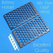 48V E-bike Li-ion Battery Holder and Nickel Tape 6P13S Ni Plate 15Ah 13S6P 18650