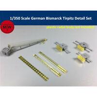 1/350 Bismarck Tirpitz Detail Set Radar Crane for Tamiya 78013 MiniHobby 80601