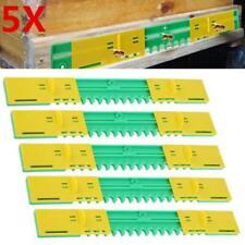 5pcs Plastic Beehive Door Beekeeping Box Entrance Disc Bee Nest Gate Guard Set
