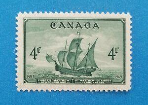Canada Scott #282 MNH very well centered good original gum. Good colors, perfs.