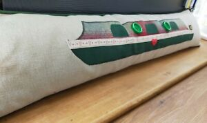 Narrowboat Laura Ashley Keswick Fabric Draught Excluder Cover Canal Boat Barge