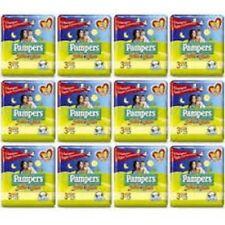 252 Pannolini PAMPERS SOLE E LUNA Pannolini Bambini taglia 2 Mini 3-6 kg NUOVI