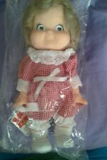 CAMPBELL'S SOUP SPECIAL EDITION 1988 KID DOLL LIL GIRL NEVER OPENED NO BOX 9.5in