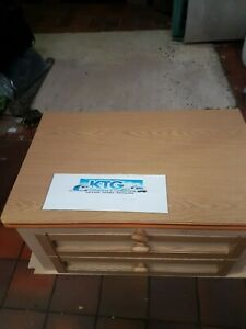 Caravan centre drawer unit with flip table top- Caravan/Motorhome/Self build