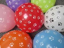 7 x Paw Patrol  Balloons dog footprints Party Decoration Wedding Supplies latex
