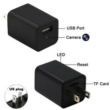 1080P hd usb spy hidden camera dvr wall phone charger ac adapter us plug IN