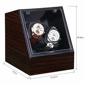 Excelvan JA1621E Duale Automatic Watch Winder Rotator Double - 4 Rotation Mode