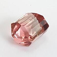 Echter polierter Turmalin Kristall ( 8,50 Ct ) 11,8 x 9,5 mm / mit Spezifikation