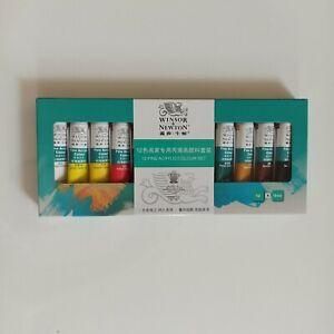 Winsor and newton acrylic paint set art